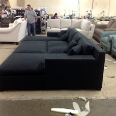 Transitional Home Theater by Your Space Furniture - Custom Upholstered Sofas