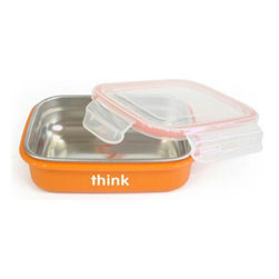 The kbaby - The kbaby BPA Free Orange Bento Box - You go to great lengths to select healthy foods for your little one, but do you ever stop to think about how you serve those snacks and meals?