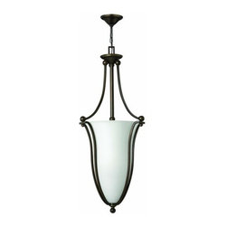 Hinkley Lighting - Hinkley Lighting 4665-OPAL 6 Light Indoor Urn Pendant - Six Light Indoor Urn Pendant with Etched Opal Shade from the Bolla CollectionFeatures: