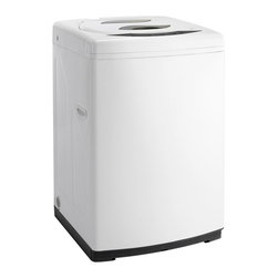 Danby - Portable Top Load Washer, White - Features:
