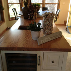 Traditional Kitchen Islands And Kitchen Carts by Bernard Rioux Cabinetmaker Inc.