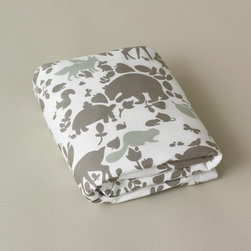 Dwellstudio Woodland Tumble Crib Sheet - Dwellstudio Woodland Tumble Crib Sheet