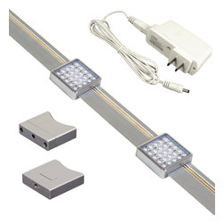 Jesco KIT-SD131-TR2-A Under Cabinet Light Kit - Jesco KIT-SD131-TR2-A Under Cabinet Light Kit
