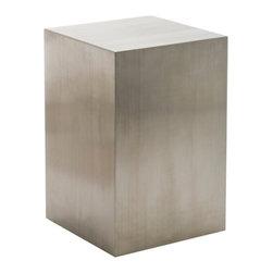 Nuevoliving - Nuevo Living Toledo Pedestal - Silver - Features: