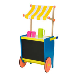 Lemonade Stand - Whether the kids actually set up a lemonade stand or just pretend to, this is must-have cart for playtime.