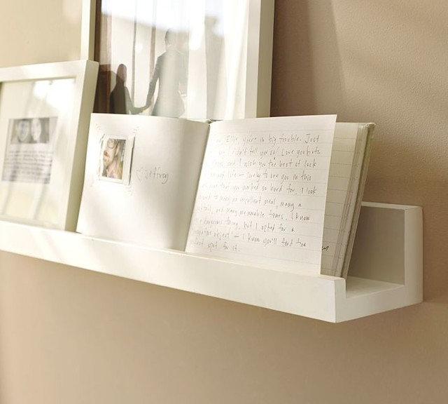 Contemporary Wall Shelves by Pottery Barn
