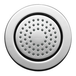 "Kohler - Kohler K-8014-CP Polished Chrome WaterTile Traditional Round 54 Nozzle - WaterTile(R) Round 54-nozzle bodyspray WaterTile bodysprays lie virtually flush to the wall and can be placed almost anywhere. The 54-nozzle WaterTile creates soothing hydrotherapy.  54 MasterClean(tm) spray nozzles provide a soothing water experience  Low profile design complements any décor  1/2"" NPT connections  Fully adjustable sprayface allows for a variety of installation options"