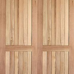 Rustic 1 interior tropical hardwood 2 panel arch top panel for Mediterranean interior doors