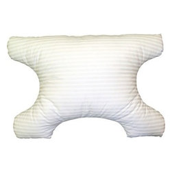Hudson Indsustries - Science of Sleep SleePAP Pillow - A gentle slope and larger surface area allows for a comfortable night's sleep. Helps prevent acid reflux, upper respiratory distress, snoring, sinus irritation, heartburn and sleep apnea.