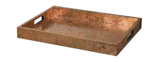"""Uttermost - Copper Ambrosia Copper 14"""" X 18"""" Decorative Tray - Copper Ambrosia Copper 14"""" X 18"""" Decorative Tray"""