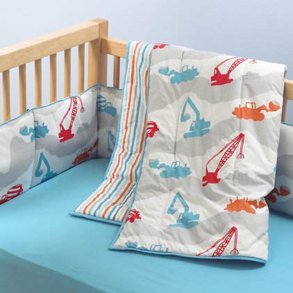 modern baby bedding by The Land of Nod