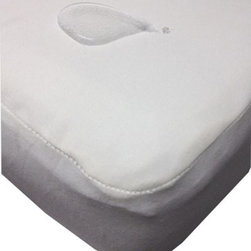 Dream Decor Organic Smooth Top Waterproof Mattress Pad - The Dream Decor Organic Smooth Top Waterproof Mattress Pad is hypo-allergenic bed bug resistant and features deep fitting pockets for a snug fit. Made from soft and natural moisture resistant tencel fabric and backed by a waterproof polyester laminate it protects your mattress without skimping on comfort. Double stitched seams and stretchy jersey cotton sides provide durable resilience. Machine wash warm and tumble dry for best results. About Dreamtex Inc.Providing customized fine quality fabrics since 1956 Dremtex consistently strives for excellence in combining old world values with modern business practices. With over 50 years of experience Dremtex has set new standards within the textile industry leading the market in custom fabrics. Committed to satisfying their clients through custom applications consultations and services their team collaborates to provide unique perspectives and quality to every design.