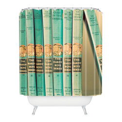 DENY Designs - The Light Fantastic One Of The Boys Shower Curtain - Who says bathrooms can't be fun? To get the most bang for your buck, start with an artistic, inventive shower curtain. We've got endless options that will really make your bathroom pop. Heck, your guests may start spending a little extra time in there because of it!