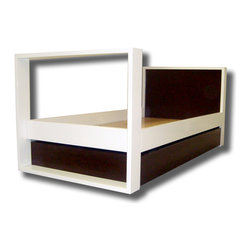 Willow Glen Twin Bed - willow glen twin open square bed by Cambas design & co.