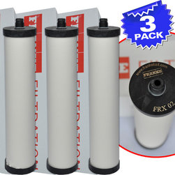 Franke - Franke FRX-02 Triflow Filter Replacement Cartridge With Lead Removal, 3 Pack - Franke FRX-02 Triflow Filter Replacement Cartridge With Lead Removal - FRX02