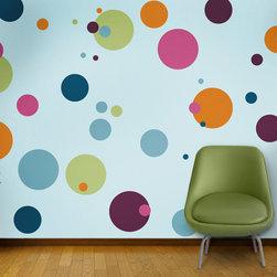 My Wonderful Walls - Polka Dot Circle Wall Stencils for Painting - - 12 individual polka dot stencils