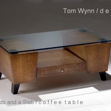 eclectic coffee tables by Tom Wynn Design