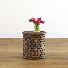 eclectic side tables and accent tables by Splendid Willow