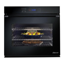 """Dacor Renaissance 30"""" Single Electric Wall Oven, Black Glass 