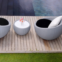 Lebello - Outdoor/ Indoor Round Coffee Table