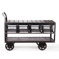 Industrial Bar Carts by CRASH Industrial Supply