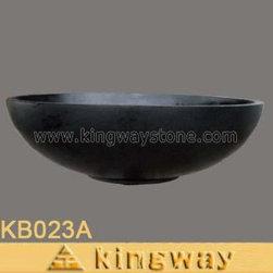Kingway Stone Inc. - Granite Bathtub - Black Granite Bathtub.