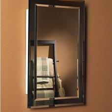 Modern Medicine Cabinets Mirror On Mirror Frameless Medicine Cabinet