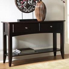 Riverside Cosmopolitan Sofa Table - Contemporary Sofa Tables at Hayneedle