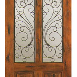 "Single Door Exterior Knotty Alder, Twin Lite 2 Panel - SKU#    SW-90_1Brand    AAWDoor Type    ExteriorManufacturer Collection    Western-Santa Fe Entry DoorsDoor Model    Door Material    WoodWoodgrain    Knotty AlderVeneer    Price    980Door Size Options    30"" x 80"" (2'-6"" x 6'-8"")  $032"" x 80"" (2'-8"" x 6'-8"")  $036"" x 80"" (3'-0"" x 6'-8"")  +$1042"" x 80"" (3'-6"" x 6'-8"")  +$8036"" x 84"" (3'-0"" x 7'-0"")  +$8030"" x 96"" (2'-6"" x 8'-0"")  +$16032"" x 96"" (2'-8"" x 8'-0"")  +$16036"" x 96"" (3'-0"" x 8'-0"")  +$17042"" x 96"" (3'-6"" x 8'-0"")  +$370Core Type    SolidDoor Style    RusticDoor Lite Style    Twin LiteDoor Panel Style    2 PanelHome Style Matching    Southwest , Log , Pueblo , WesternDoor Construction    True Stile and RailPrehanging Options    Prehung , SlabPrehung Configuration    Single DoorDoor Thickness (Inches)    1.75Glass Thickness (Inches)    1/4Glass Type    Single GlazedGlass Caming    Glass Features    Glass Style    Glass Texture    ClearGlass Obscurity    Door Features    Door Approvals    Door Finishes    Door Accessories    Weight (lbs)    340Crating Size    25"" (w)x 108"" (l)x 52"" (h)Lead Time    Slab Doors: 7 daysPrehung:14 daysPrefinished, PreHung:21 daysWarranty    1 Year Limited Manufacturer WarrantyHere you can download warranty PDF document."