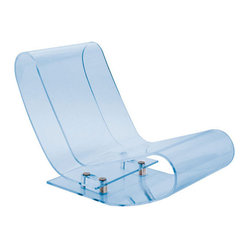 LCP Lounge Chair, Sky Blue