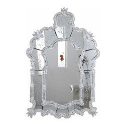 "PWG Lighting / Lighting By Pecaso - Zabrina Crystal Vanity Fixture MR-6296S - Mirror 33""x1.75""x48.75""H SL"