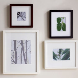 Wood Gallery Single Opening Frames - Photos help make a house a home. And photos of your favorite people and places will warm up your space and your soul.