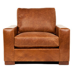 Madrid Leather Chair - Rich in tradition. The Madrid chair is a stand out amongst chairs