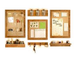 Wall Organization 7-Piece System - The Ozark Collection - Wall Organization System
