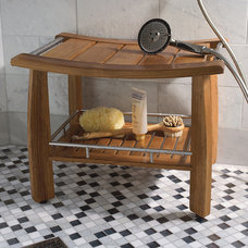 Traditional Shower Benches & Seats by FRONTGATE