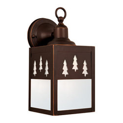 Vaxcel Lighting - Vaxcel Lighting T0051 Yosemite 1 Light Outdoor Wall Sconce - Features: