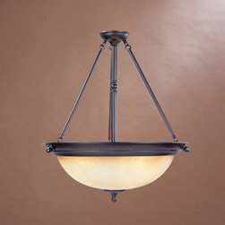 Designers Fountain - Apollo Oil Rubbed Bronze Three-Light Pendant - Apollo Oil Rubbed Bronze Three-Light Pendant Designers Fountain - 94031-ORB