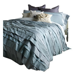 Belgravia Duvet Set, King, Iced Blue