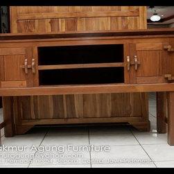 Teak Console tropical large table - Djati Makmur Agung Furniture