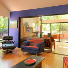 Eclectic Family Room by Morse Remodeling, Inc. and Custom Homes