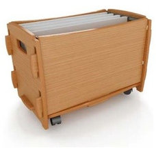 Modern Toy Storage Marco Letter File Cart By Legare Furniture