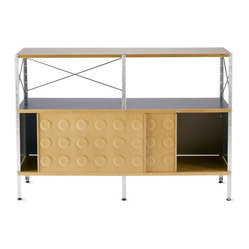 Eames® Storage Unit, 2x2 with Doors