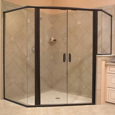 Contemporary Shower Doors by GlassCrafters Inc