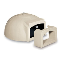 "Sunday Grill - Wood Fired Modular Pizza Oven Kit for Outdoor Kitchen or Indoor Use, 31.5""-47.3"" - Modular Pizza Oven Kit ""Volta"""