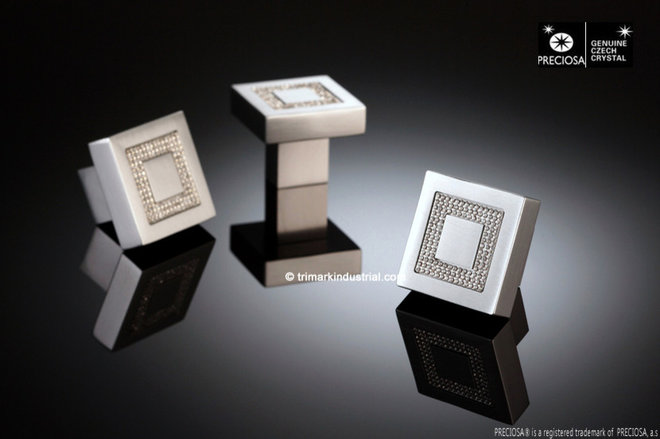 Modern Cabinet And Drawer Knobs by Trimark Industrial Corp