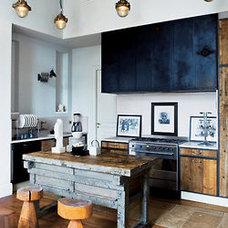 Grace&Velvet (gorgeous industrial timber kitchen)
