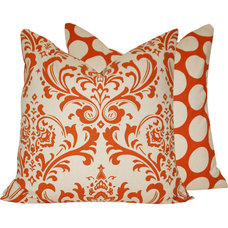 Traditional Pillows by Chloe and Olive LLC