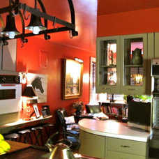 Eclectic Kitchen by R. Hoskins Interiors