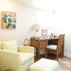 Beach Style Home Office by Ashley Camper Photography