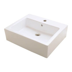 PolarisSinks - Polaris P052VB Bisque Porcelain Vessel Sink - Our extensive line of porcelain sinks will compliment any decor from the traditional to the unique. Our porcelain sinks are true vitreous China with a triple laid glaze to create the strongest sink you will find. Our porcelain sinks are extremely low maintenance. Our porcelain sinks are covered by a limited lifetime warranty. Each comes with a cardboard cutout template and mounting hardware.